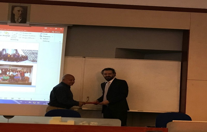 Mustafa Ciftci, member of our group, recieved the Serhat Özyar Young Scientist of the Year (2018) Award jointly given by the Chamber of Electrical Engineers (EMO), Middle East Technical University (METU) Academicians' Association, and Science and Utopia C