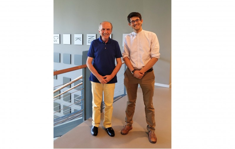 Dr. Mirabbos Hojamberdiev from Berlin visited our lab.