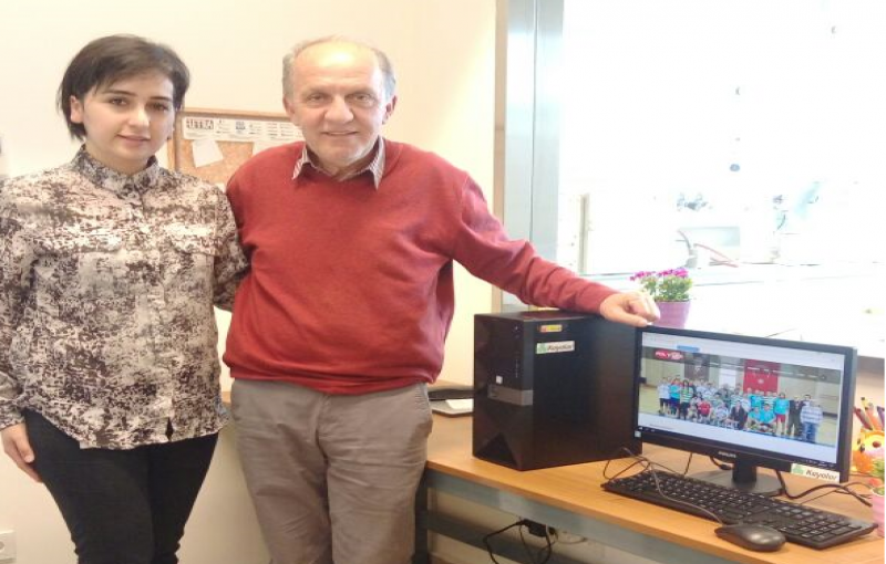 Kayalar Kimya kindly donated a computer to our lab through former Yagci Lab member, Alev Tuzun.
