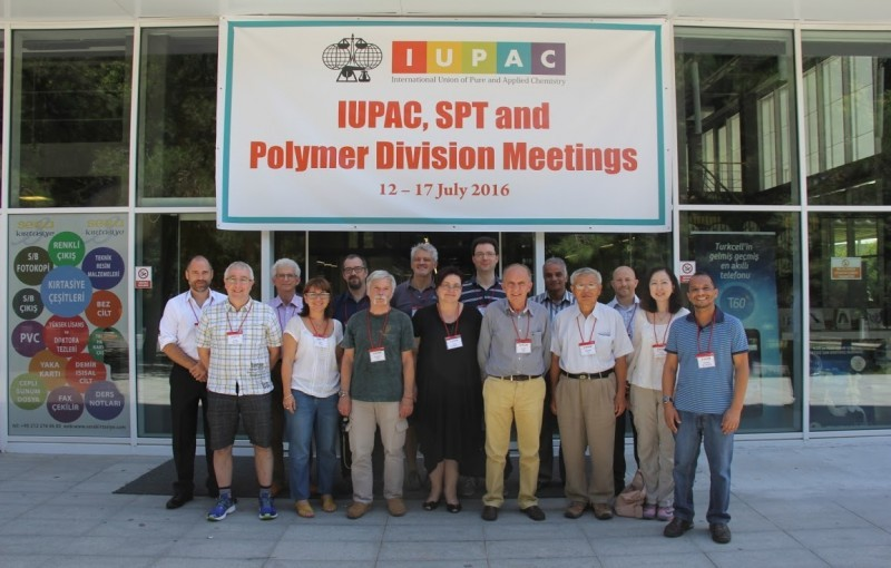 IUPAC Polymer Division Meetings accomplished.