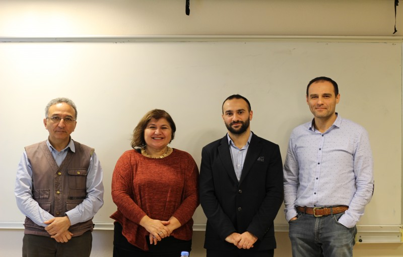 Erdem Sari, member of Yagci Lab, has successfully defended his MSc thesis.